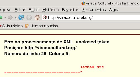 xml Virada Cultural 2009