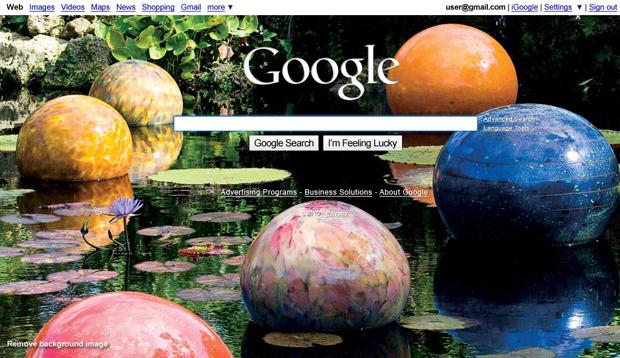 Google Imagem de Fundo