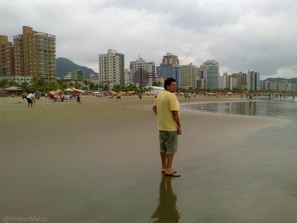Observando a beleza do mar....