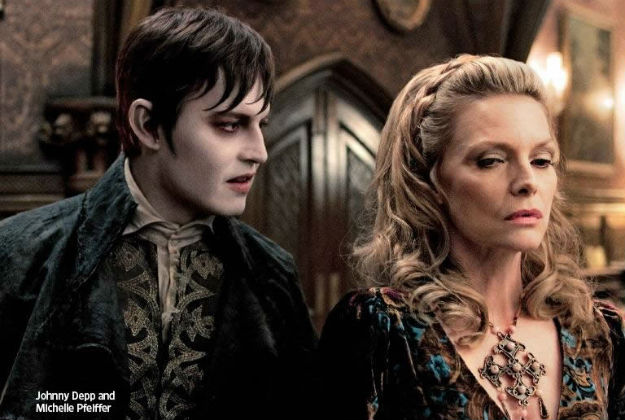 Dark Shadows: Johnny Depp & Michelle Pffeifer