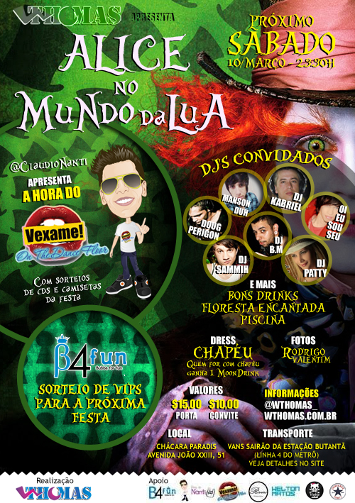 Alice - No Mundo da Lua | W.Thomas B-Day
