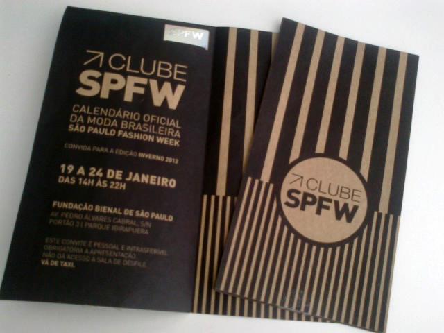 São Paulo Fashion Week eu vou!