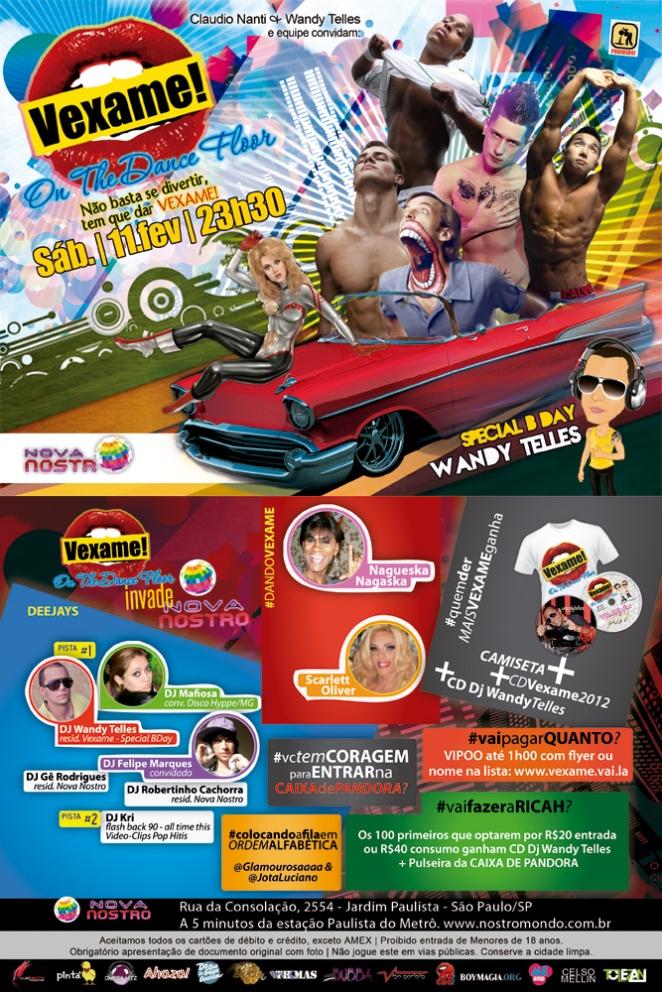 Vexame Sábado - 11.FEV.2012