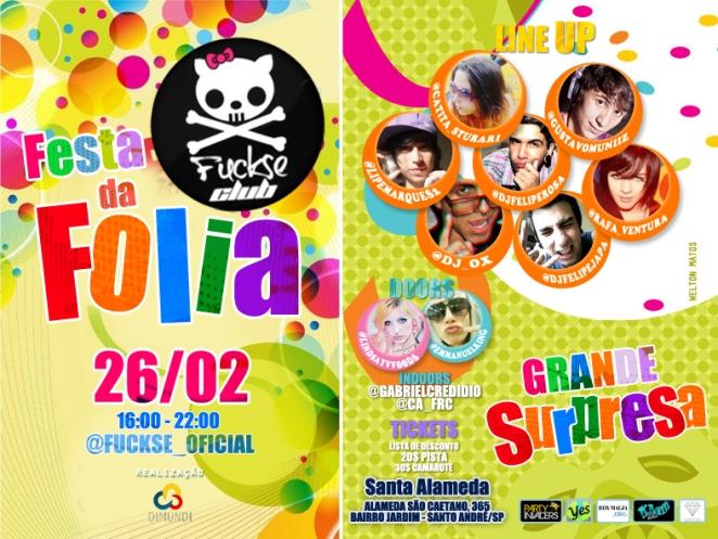 FUCKSE CLUB - FESTA DA FOLIA