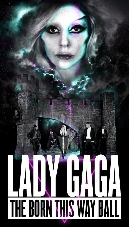 Born This Way Ball Tour Poster