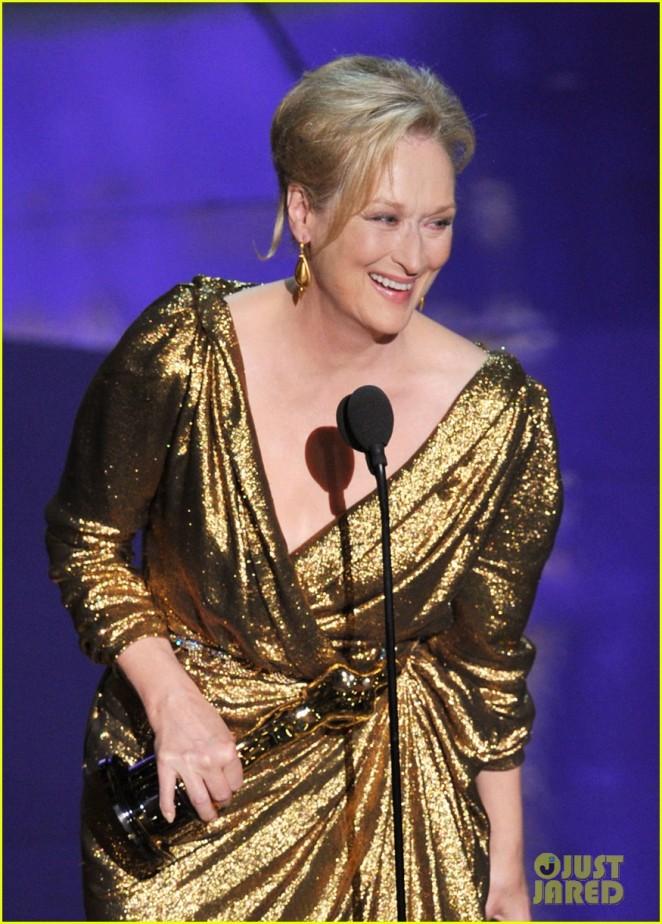 Meryl Streep é consagrada com Oscar de Melhor Atriz