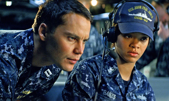 Battleship marca estreia de Rihanna nos cinemas