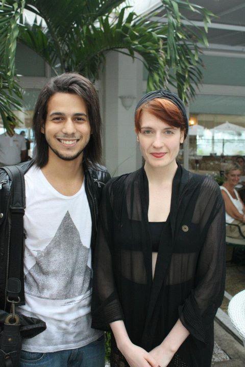 Com a Florence no Copacabana Palace...