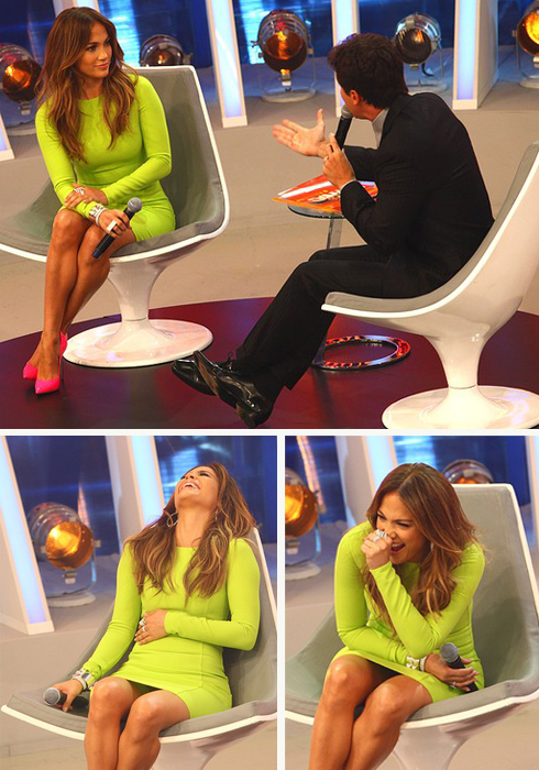 Jennifer Lopez está no Brasil