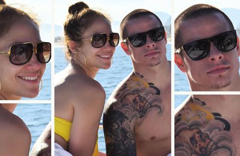 Jennifer Lopez e Casper Smart bem hot no Rio de Janeiro