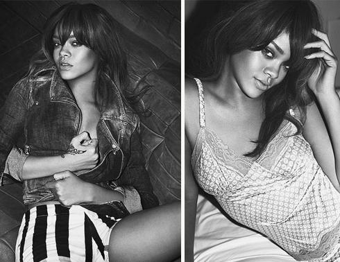 Rihanna sexy para Armani