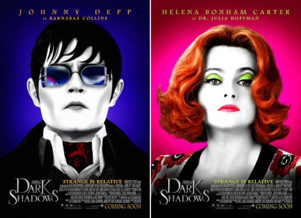 Dark Shadows: Johnny Depp & Helena Bonham Carter