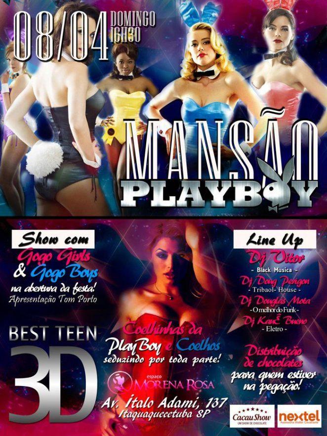 Best Teen promove a festa Mansão Playboy