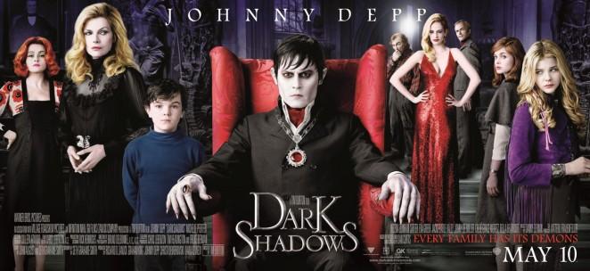 """Sombras da Noite – """"Dark Shadows"""""""