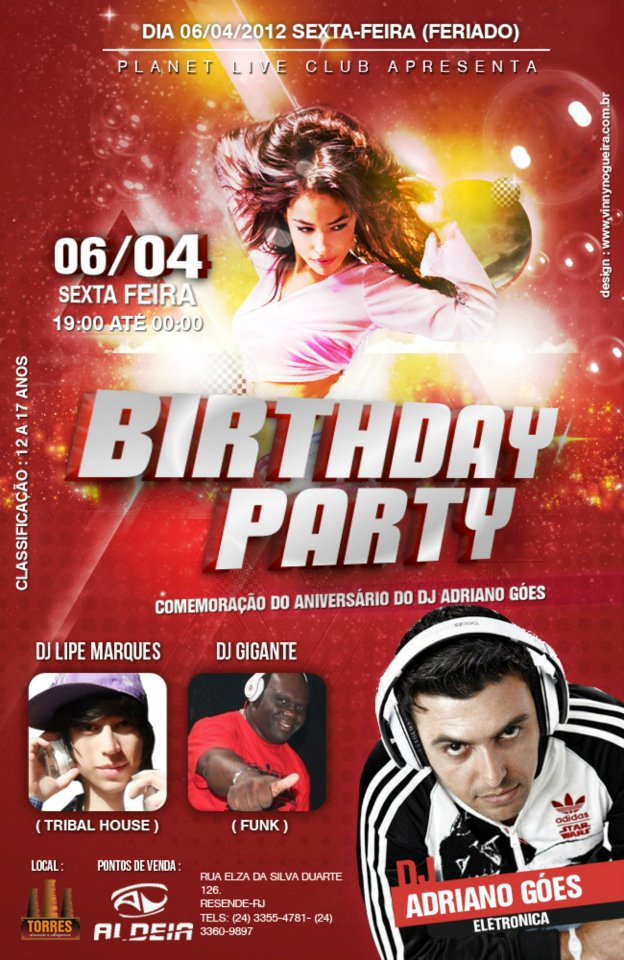 PLANET LIVE CLUB - BIRTHDAY PARTY