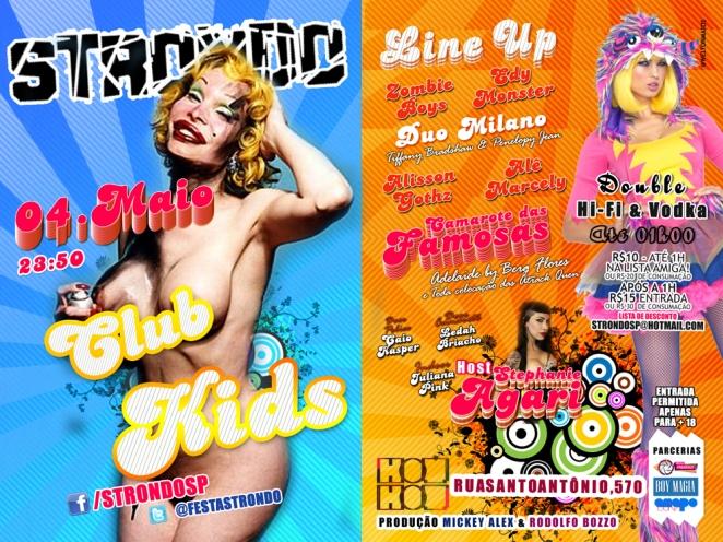 Festa STRONDO - CLUB KIDS #13 na Hot Hot