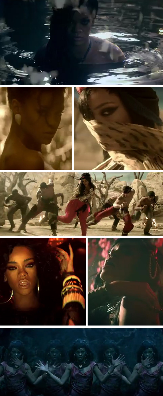 O novo clip da Rihanna