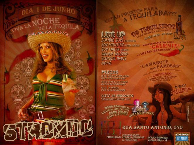 """STRONDO in """"Viva la noche de la tequila"""""""