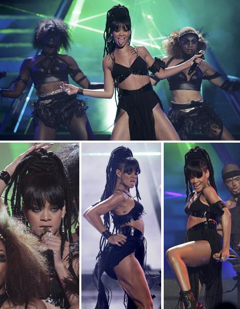 Rihanna faz apresentação eletrizante no final do American Idol