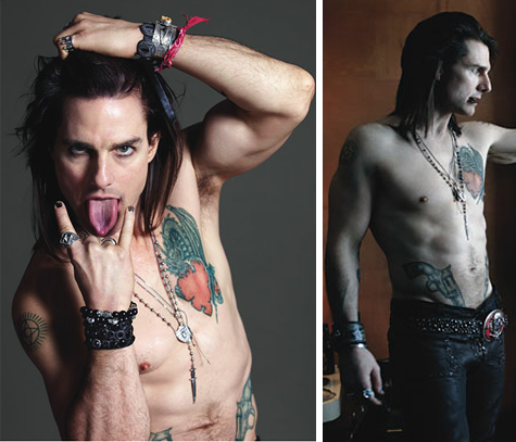 "Em ""Rock Of Ages"" Tom Cruise vive Stacee Jaxx"