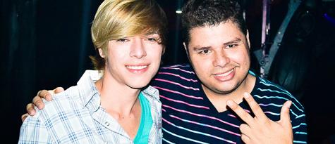 Com o amigo WThomas