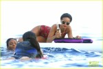 Rihanna Enjoying A Beer In The Mediterranean Sea