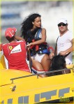 Rihanna Takes To The Skies!