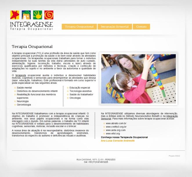 Projeto DGAZ: Integrasense