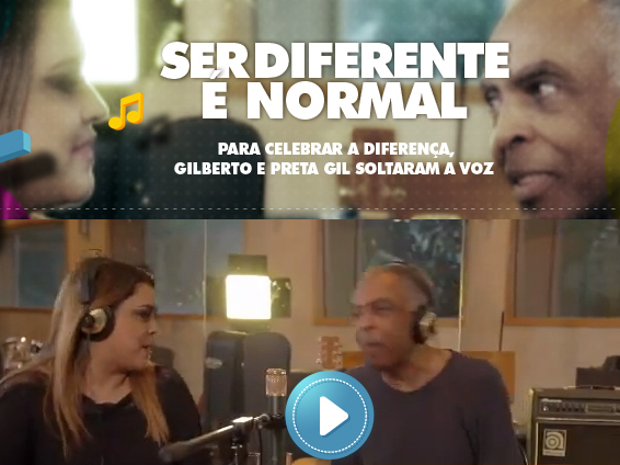 Ser diferente é normal!