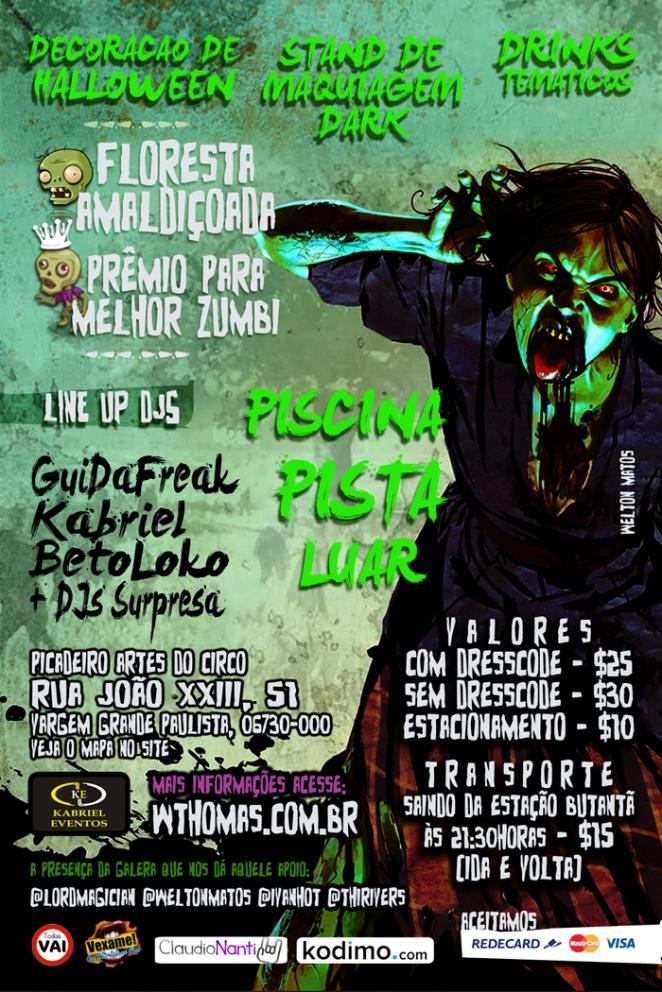 Festa no Sítio: Halloween Edition