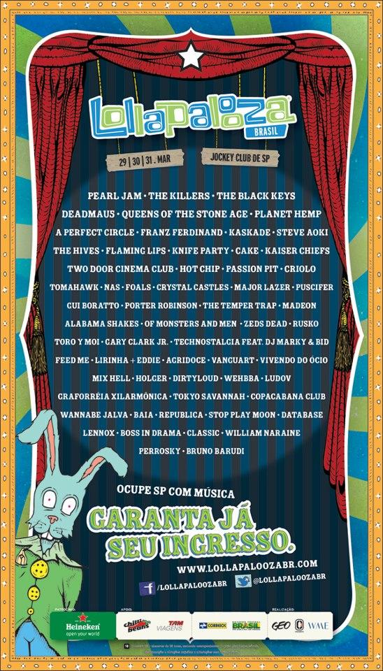 Lollapalooza Brasil 2013!
